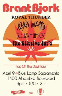 Sunday April 9th @ The Blue Lamp Sacramento